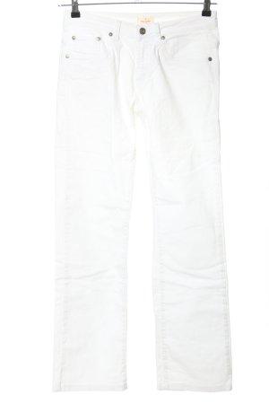 Daniel Hechter Jeans Straight-Leg Jeans weiß Casual-Look