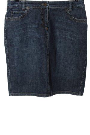 Daniel Hechter Denim Skirt blue casual look