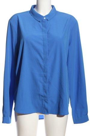 Daniel Hechter Langarm-Bluse blau Business-Look