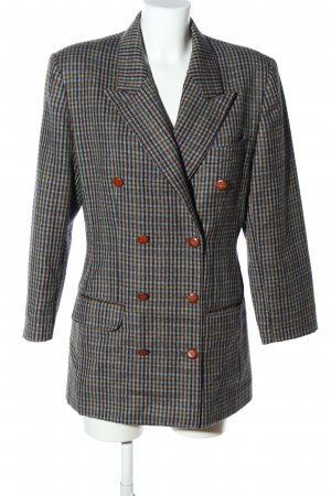 Daniel Hechter Long-Blazer Karomuster Business-Look