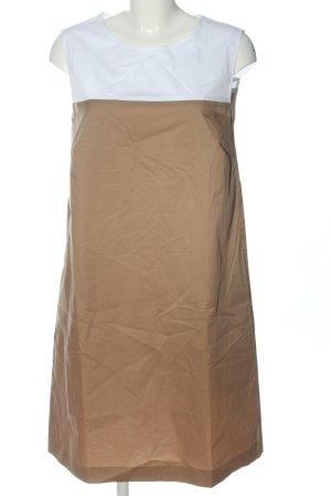 Daniel Hechter Minikleid braun-weiß Casual-Look