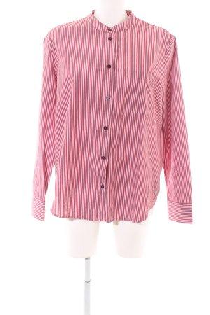Daniel Hechter Oversized Bluse rot-weiß Streifenmuster Casual-Look