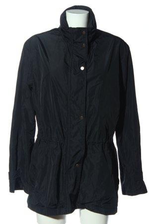 Daniel Hechter Raincoat black casual look