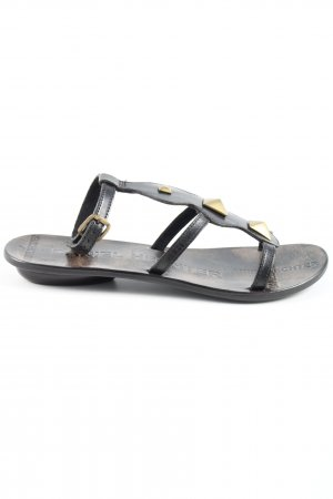 Daniel Hechter Strapped Sandals black casual look
