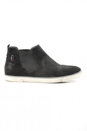 Daniel Hechter Slip-on Booties black allover print casual look