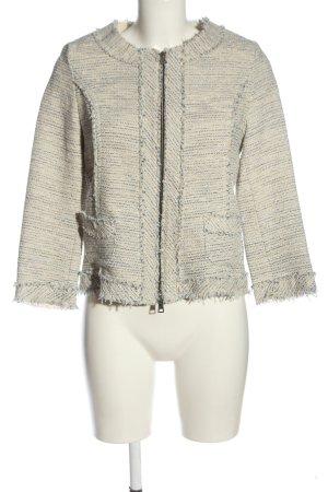 Daniel Hechter Tweed Blazer cream-light grey flecked casual look