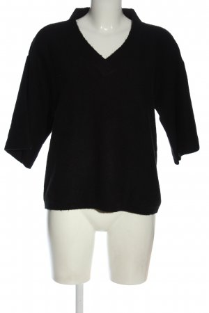 Daniel Hechter V-Neck Sweater black casual look