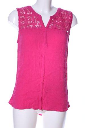 Daniel Rainn ärmellose Bluse pink Casual-Look