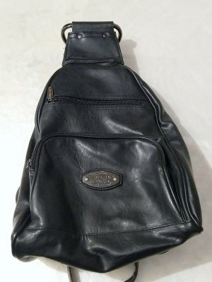 Daniel Ray Daypack black leather