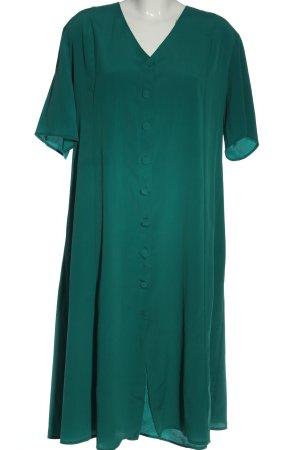 daniel ricci Koszulowa sukienka zielony Na całej powierzchni W stylu casual