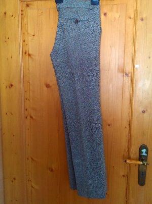 Daniel Stern Lage taille broek grijs-lichtbruin