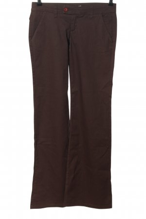 "Daniel Stern Pantalon pattes d'éléphant ""W-mpsaa8"" brun"