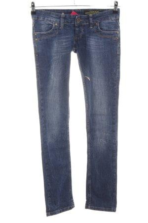 Daniel Stern Slim Jeans blau Casual-Look