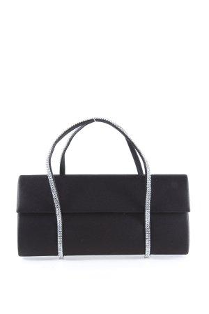 daniel swarovski Minitasche schwarz-silberfarben Elegant