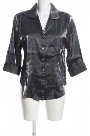 Daniel Valentin Shirt Blouse black flecked casual look