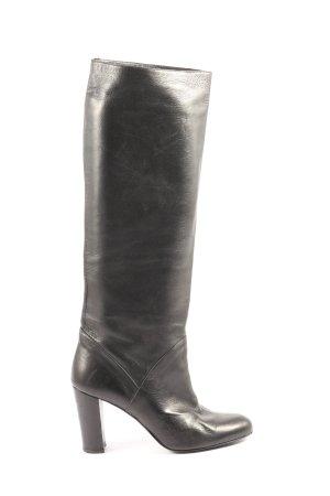 DANIEL Wide Calf Boots black business style