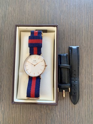 Daniel Wellington Montre analogue multicolore