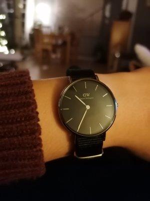 Daniel Wellington Analoog horloge zwart-zilver