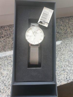 Daniel Wellington Horloge met metalen riempje zilver