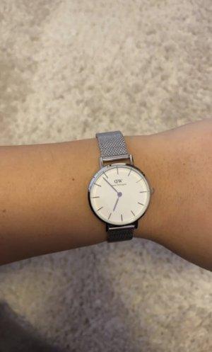 Daniel Wellington Zegarek z metalowym paskiem srebrny-biały