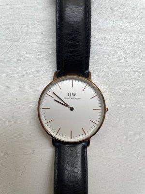 Daniel Wellington Analoog horloge zwart-goud
