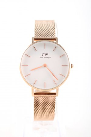 Daniel Wellington Watch With Leather Strap gold-colored business style