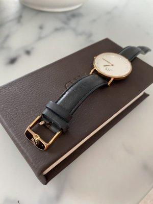 Daniel Wellington Uhr schwarz Rose Gold rosegold Steinchen