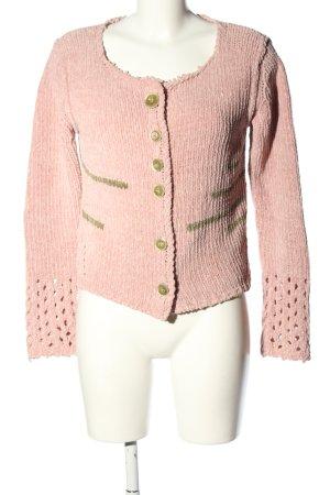 Daniela Dalla Valle Giacca in maglia rosa stile casual