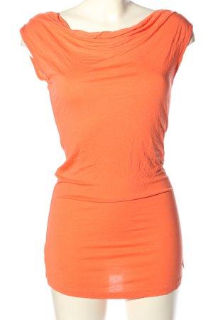 Daniela Katzenberger Long Top light orange elegant