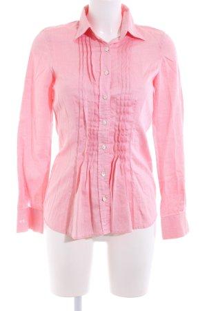 Daniels & Korff Hemd-Bluse pink Streifenmuster Casual-Look