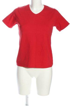 Daniels & Korff T-Shirt rot Casual-Look