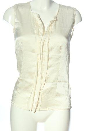 DANIELS Jedwabna bluzka kremowy W stylu biznesowym