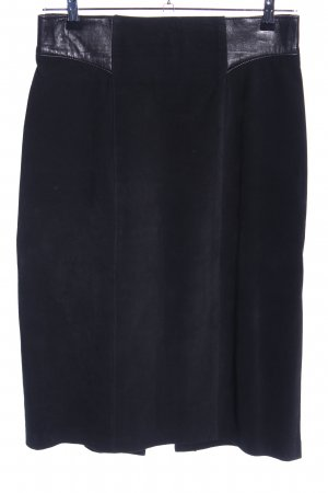 Danier Leather Skirt black casual look