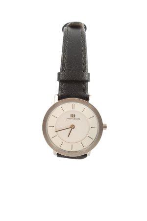Danish Design Analog Watch natural white-black business style