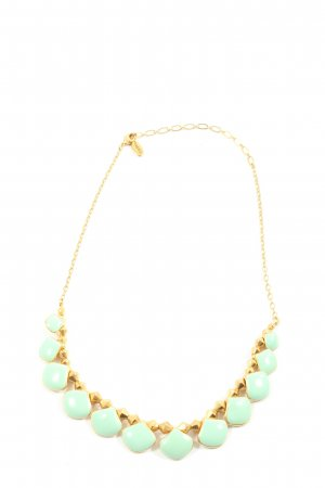 Danish Design Collier Necklace gold-colored-turquoise casual look