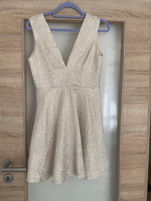 Danity Cocktail Dress natural white-gold-colored