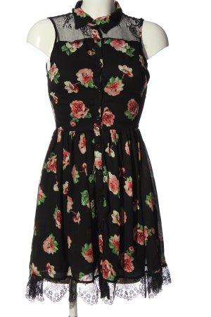 Danity Hemdblusenkleid Blumenmuster Elegant