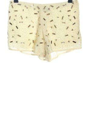 Danity Pantalón corto blanco puro elegante