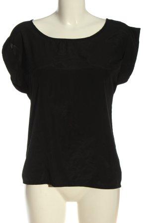 Danity Short Sleeved Blouse black elegant