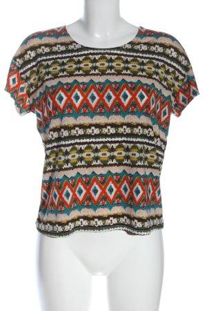 Danity T-shirt imprimé allover style décontracté