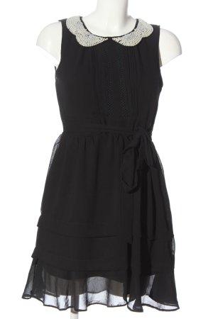 Danity Robe courte noir élégant