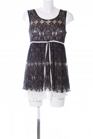 Danity Minikleid schwarz-weiß Elegant