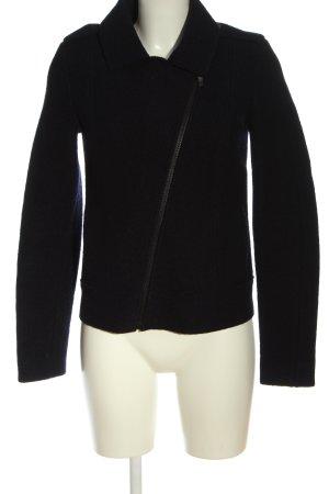 Dannenmann Chaqueta de lana negro look casual