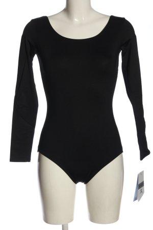 Danskin Basic Bodysuit black casual look