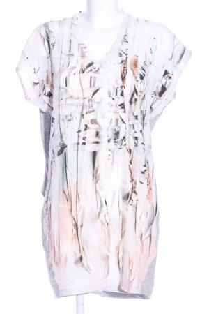 Dante 6 T-Shirt weiß-hellgrau Motivdruck Casual-Look