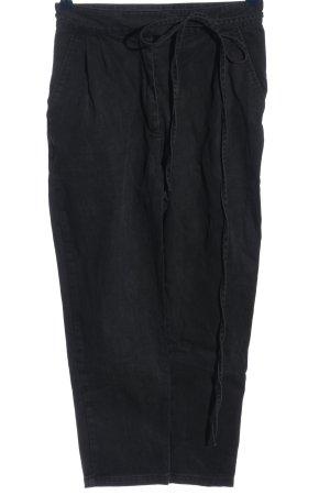 Daphnea Jeansy z wysokim stanem czarny W stylu casual