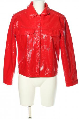 Daphnea Kurzjacke rot Business-Look