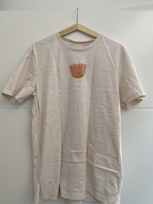 Dariadéh T-Shirt Größe M beige mit Aufdruck NEU
