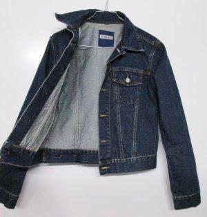 Dark Denim Jeans Jacke Street One Größe S 36 Blau Dunkelblau Kurzjacke Blouson Biker