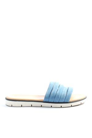 Darkwood Sandały plażowe niebieski W stylu casual